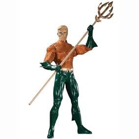 Bonecos Brightest Day DC Direct series 1 / Boneco Aquaman DC Comics Action figure