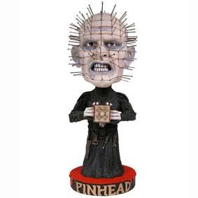 Bonecos Cabeça de Mola Neca :: Boneco Pinhead Head Knocker Bobble Head