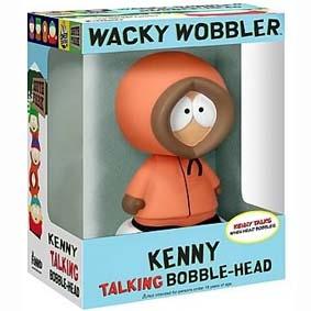 Bonecos Cabeçudos do South Park :: Boneco Kenny Bobble Head Brasil (com som)