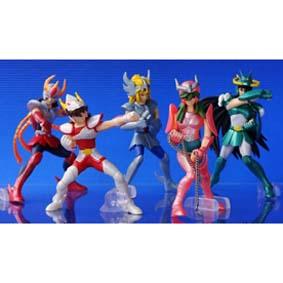 Bonecos Cavaleiros do Zodiaco Bandai