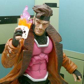 Bonecos da Marvel Select Gambit X-Men / Enviamos para todo o Brasil