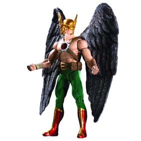 Bonecos DC Direct Brightest Day s2 / Boneco Gavião Negro Hawkman Action Figure