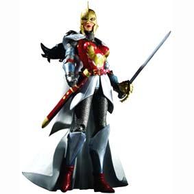 Bonecos DC Flashpoint série 1 :: Boneco Wonder Woman DC Direct Mulher Maravilha