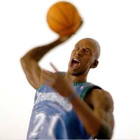 Bonecos de Basquete NBA Mcfarlane :: Kevin Garnett Minnesota Timberwolves