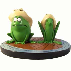 Bonecos de Desenhos Animados da TV : Boneco do Toro e Pancho