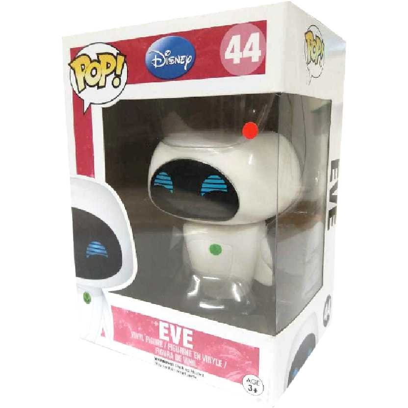 Bonecos de Vinil Funko Pop! Eve número 44 do filme Wall-E Disney Pixar Original