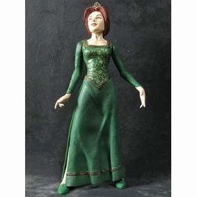 Bonecos do filme Shrek Mcfarlane Toys Brasil :: Princess Fiona Action Figure