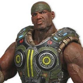 Bonecos do Gears of War 3 Augustus Cole Neca Toys Brasil Action Figure