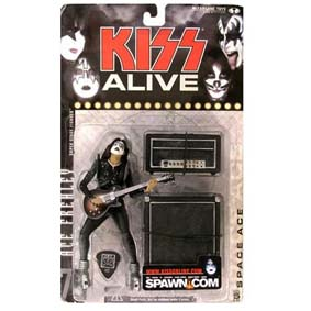 Bonecos do Kiss Alive - Ace Frehley