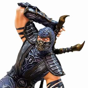 Bonecos do Mortal Kombat 9 Scorpion Syco Collectibles Statue