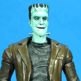 Bonecos do seriado Os Monstros / Boneco Herman The Munsters Action Figure