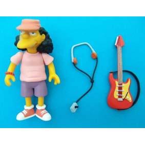 Bonecos dos Simpsons onde comprar boneco raro do Otto (aberto)