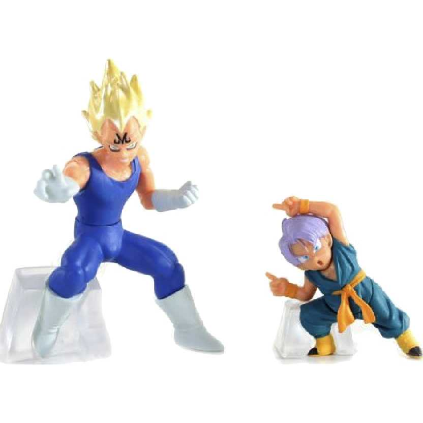 Bonecos Dragon Ball Z Vegeta e Trunks HG Plus EX Action Pose Figure