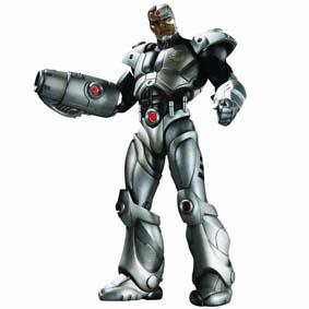 Bonecos Flashpoint série 1 :: Boneco Cyborg DC Brasil