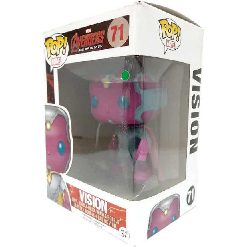 Bonecos Funko POP! Vision Vinyl Bobble-Head Vingadores Era de Ultron número 71