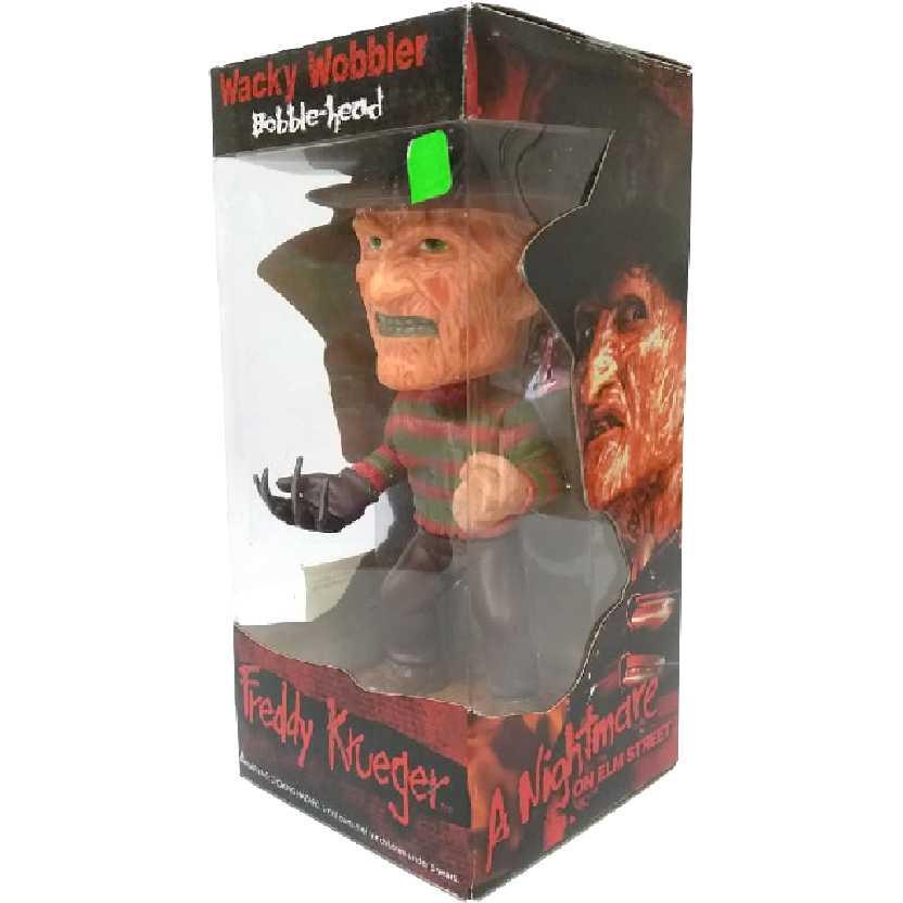 Bonecos Funko Toys Brasil Bobble Head Cabeção do Freddy Krueger Wacky Wobbler