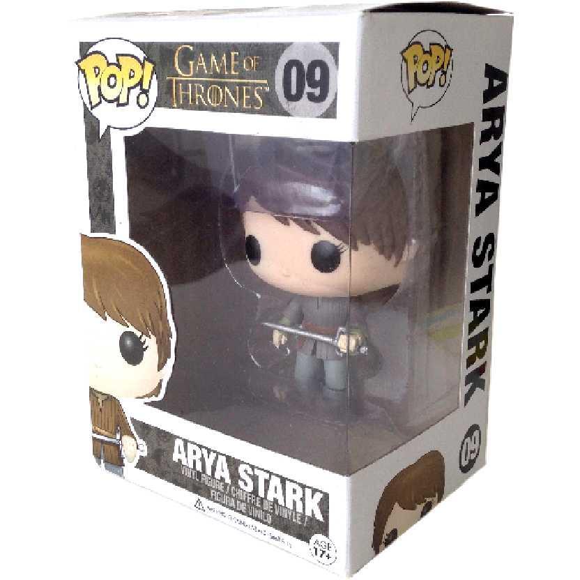 Bonecos Game Of Thrones Funko Pop! Vinyl Arya Stark (A Guerra dos Tronos) número 09