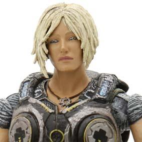 Bonecos Gears of War 3 Anya Stroud Neca Toys Brasil Action Figure