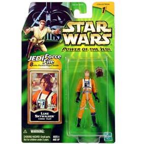 Bonecos Guerra nas Estrela Star Wars POTJ Luke Skywalker X-Wing Pilot
