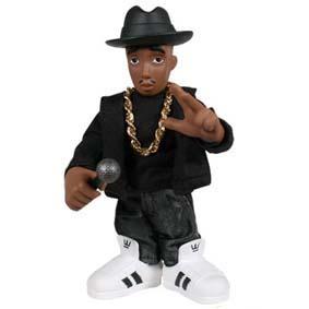 Bonecos Hip Hop Run DMC Mezco Toys :: Boneco DJ Run