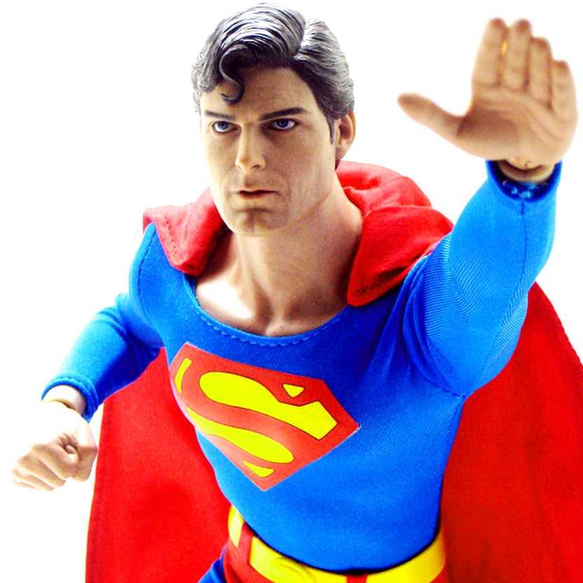 Bonecos Hot Toys Brasil Superman Christopher Reeve :: Boneco Super Homem escala 1/6