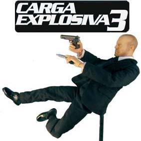 Bonecos Hot Toys Exclusive Brasil :: Jason Statham do filme Carga Explosiva 3 (Transporter 3)