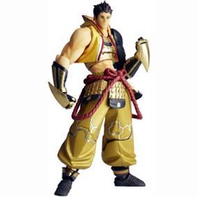 Bonecos Kaiyodo Revoltech Sengoku Basara 3 series 094 Boneco Tokugawa Ieyasu