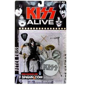 Bonecos Kiss Alive - Peter Criss da Mcfarlane Toys