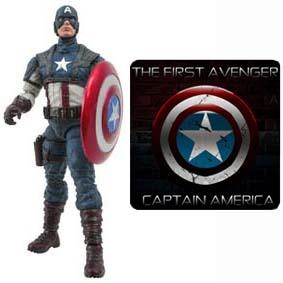 Bonecos Marvel Select Capitão América O Primeiro Vingador :: Bonecos Os Vingadores