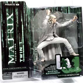 Bonecos McFarlane Matrix Figures Twin 1 (lacrado)