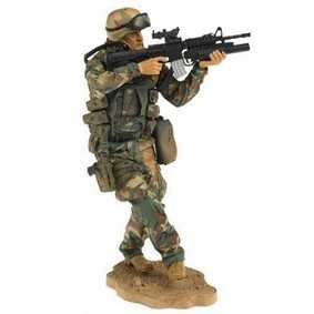 Bonecos Mcfarlane Toys Military Paratrooper (série Second Tour Of Duty) ABERTO