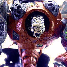 Bonecos McFarlane Toys Spawn Cyber Units Boneco Viral Unit 001 ( red )