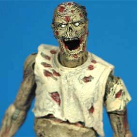 Bonecos Mcfarlane Toys The Walking Dead Comic series 1 / Zombie Lurker (aberto)