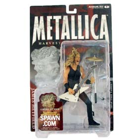 Bonecos Metallica James Hetfield Mcfarlane