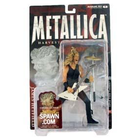 Bonecos Metallica James Hetfield Mcfarlane