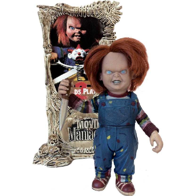 Bonecos Movie Maniacs 2 McFarlane Toys Chucky (ABERTO) Childs Play II