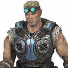 Bonecos Neca Gears of War 3 series 2 Damon Baird Action Figure