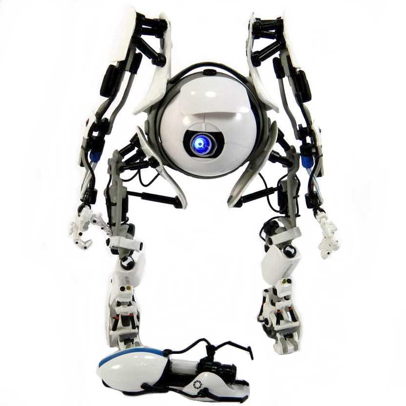 Bonecos Neca Portal 2 - Atlas (Portal Bots) com led