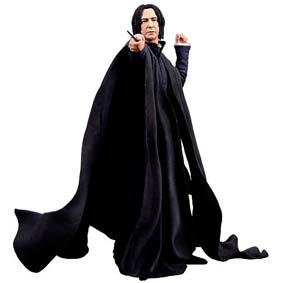 Bonecos Neca Toys Harry Potter Series 1 Severus Snape (aberto)