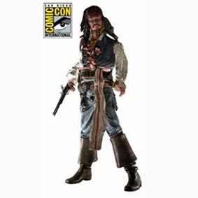 Bonecos Piratas do Caribe Jack Sparrow Cannibal (aberto) Johnny Depp