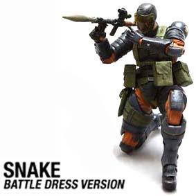 Bonecos Play Arts Kai :: Metal Gear Solid Peace Walker Snake Battle RARO