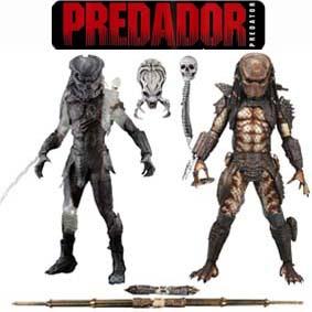 Bonecos Predators :: Berserker and City Hunter Predator Action Figures