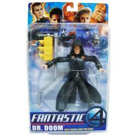 Bonecos Quarteto Fantástico Doutor Destino (Julian McMahon) Marvel Action Figures