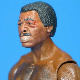Bonecos Rocky Neca Action Figure / Boneco Apollo Creed (Fight Damage)