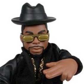Bonecos Run DMC Mezco Toys :: Boneco Jam Master Jay