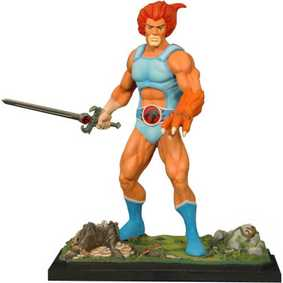 Bonecos Sideshow Collectibles Thundercats Lion 2011