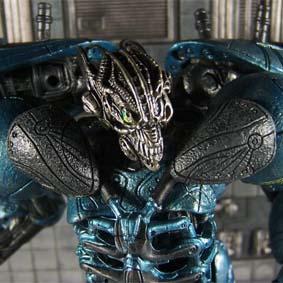 Bonecos Spawn Cyber Units Boneco Defender Unit 001 ( blue/azul )