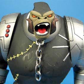 Bonecos Spawn Mcfarlane Toys series 30 / Codename Cy-Gor Cyborg Cygor Chimp Gorilla