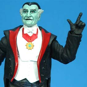 Bonecos The Munsters Diamond Select Grandpa / Boneco VoVô