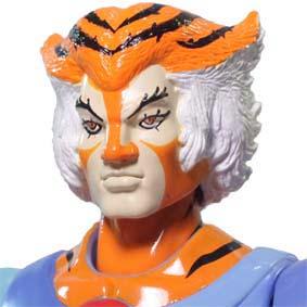 Bonecos Thundercats Bandai :: Boneco Tygra Thundercats 2011 Classic (aberto)